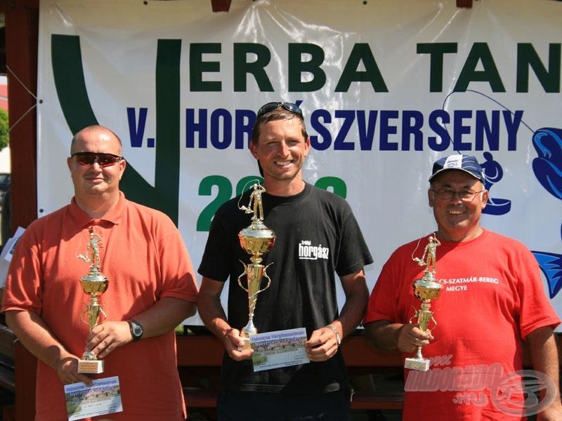 Úszós kategória győztesei