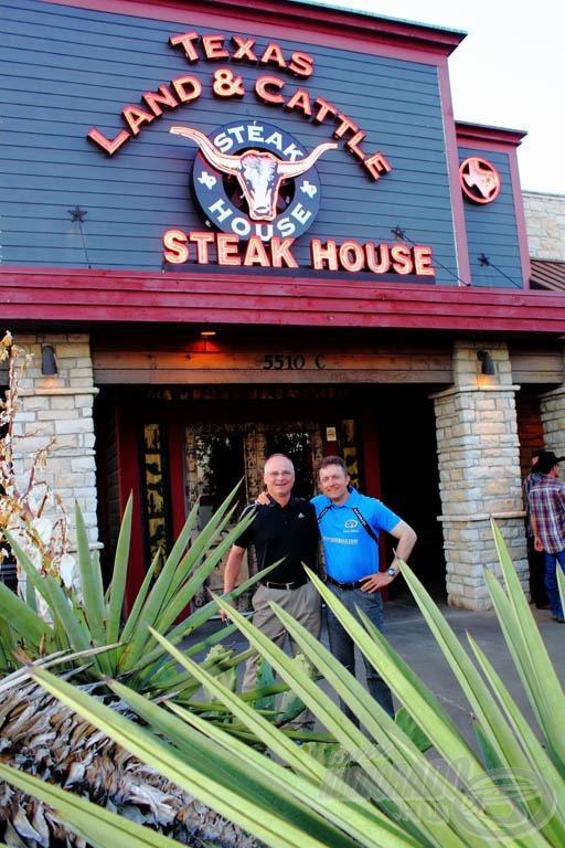 Texas mit sem ér egy Steak House nélkül… :)
