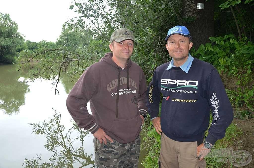 Gerő András horgászbarátom segített a Bodrog folyó ígéretes helyeit felfedezni