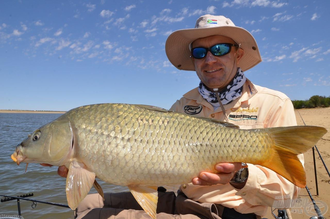 Szép halakkal küzdöttem meg Bloemhofban. Mondtam is mindegyiknek: viszlát novemberben!