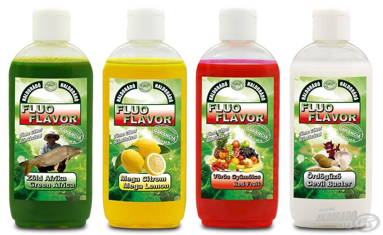 A 2014-ben forgalomba kerülő, dél-afrikai minta alapján készülő Haldorádó Fluo Flavor aromák új lehetőségek kapuit nyitják meg a horgászok előtt!