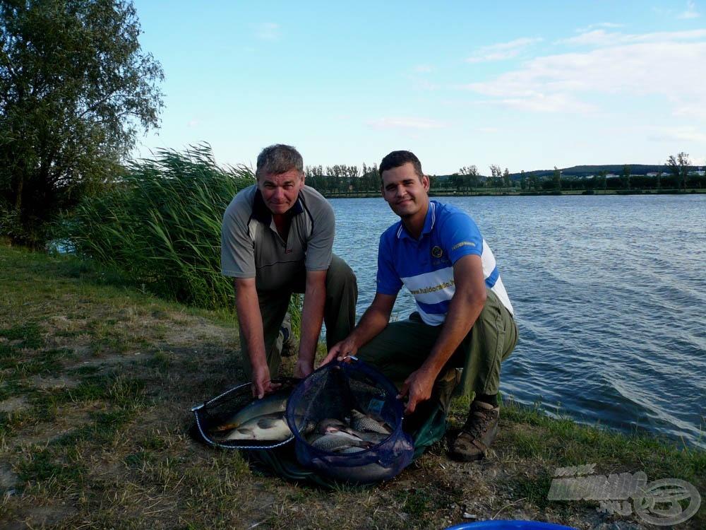 … mégpedig az, hogy szeretünk halat fogni!