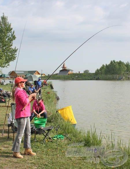 Szelina bravúros horgászatot mutatott be