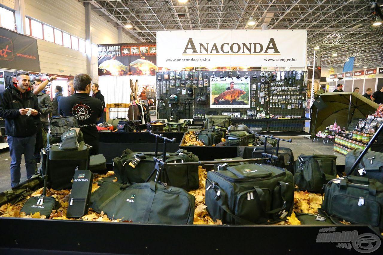Az Anaconda minden évben rendkívül színvonalasan jelenik meg a kiállításon