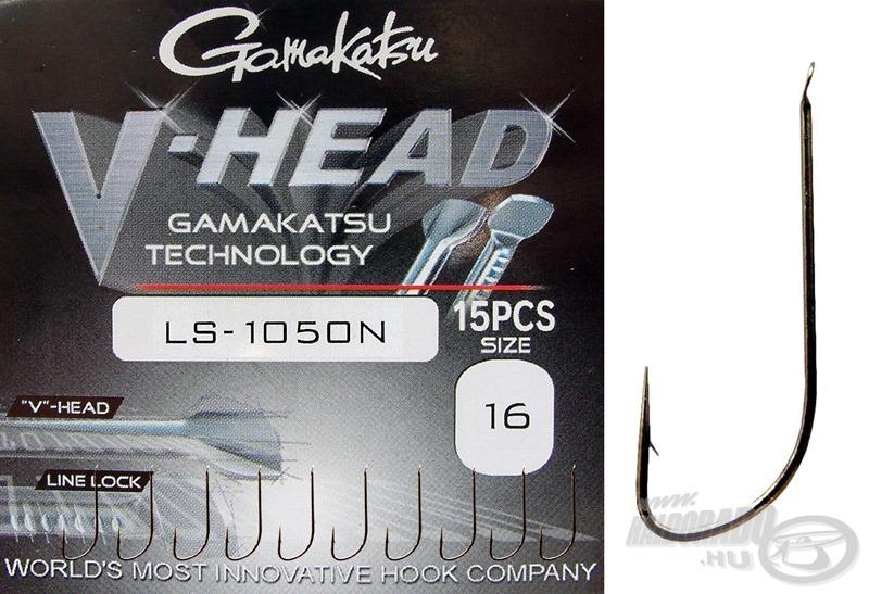 A Gamakatsu V-Head széria különleges fejkiképzésével hívja fel magára a figyelmet