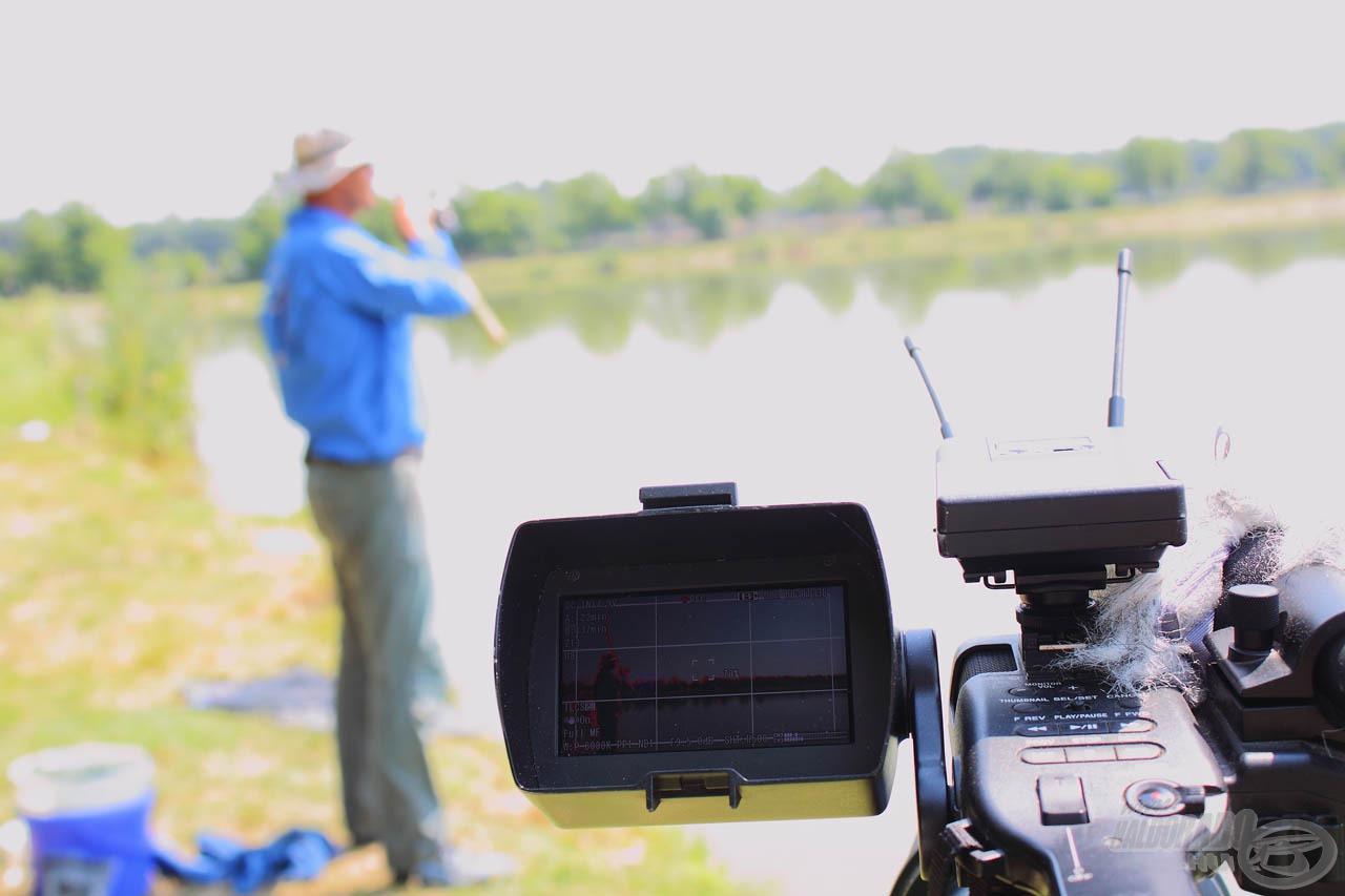 A horgászatról látványos videó is készült, melyben helyet kap a technikai bemutató és a peca menetének folyamata is!