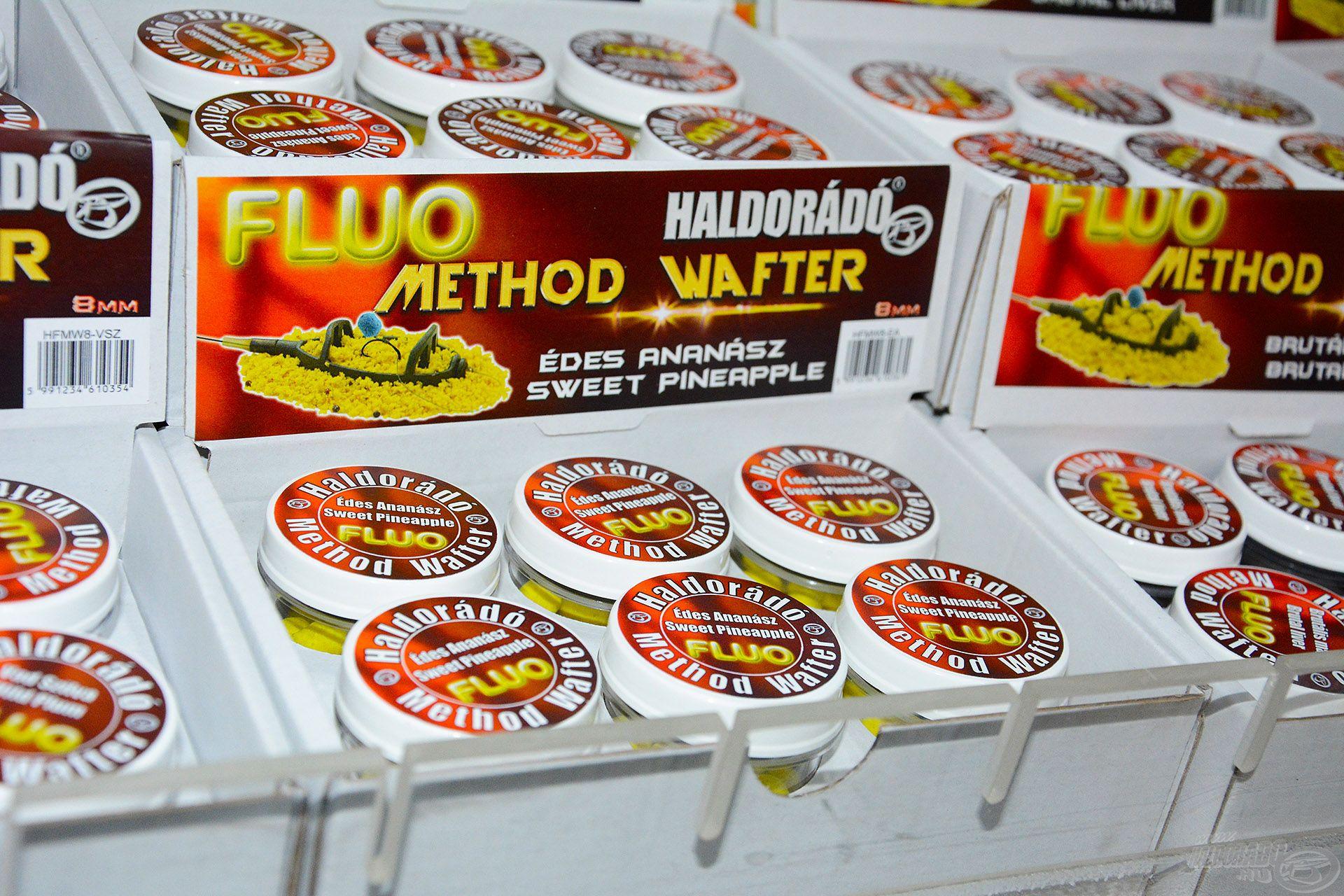 A finom pontyhorgászat szerelmeseinek itt a Fluo Method Wafter Pellet