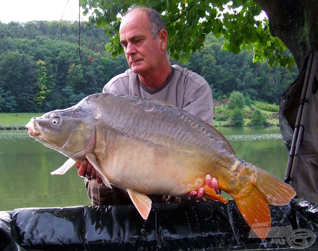 A szebb halak is tudatták ittlétüket (11,30 kg)