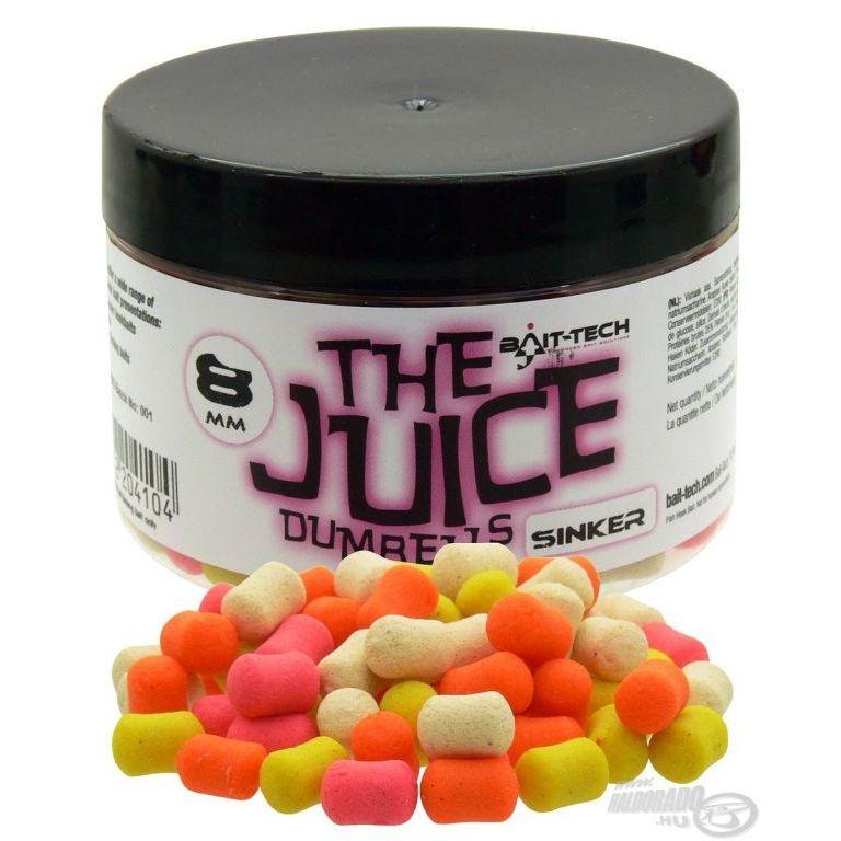 Bait-Tech The Juice Dumbells - süllyedő 8 mm