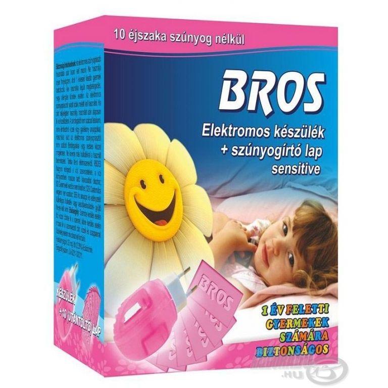 BROS Elektromos Szúnyogirtó készülék Sensitive