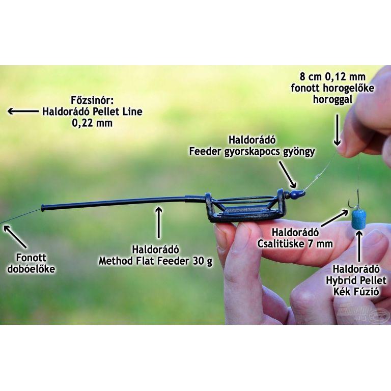 By Döme Komplett prémium method felszerelés - Master Carp LCS 5500 orsóval