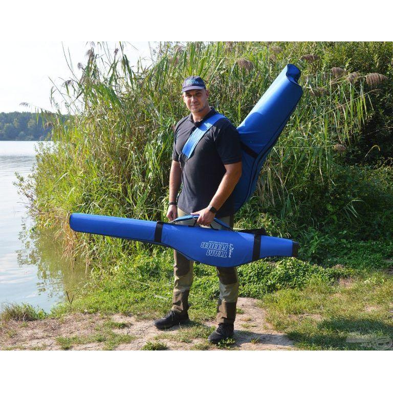 By Döme TEAM FEEDER Merev bottartó táska 4 botos 165 cm