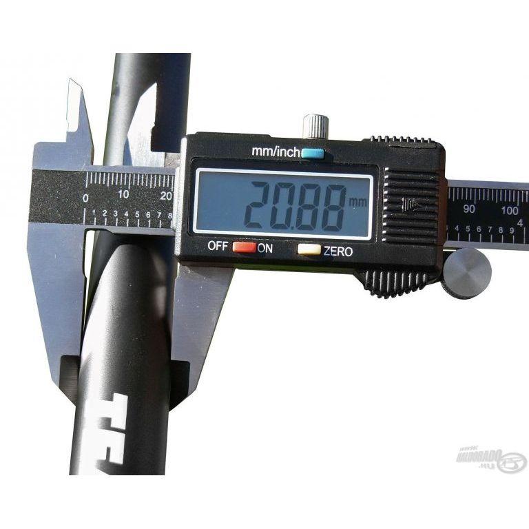 By Döme TEAM FEEDER Power Carp merítőnyél 2,4 m