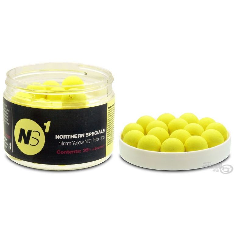 CCMoore NS1 Yellow 14 mm - Citrusos Pop Up bojli