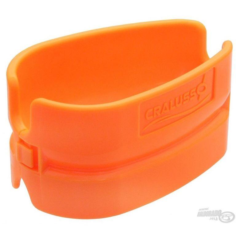 CRALUSSO Shell Method kosár töltő szerszám Orange