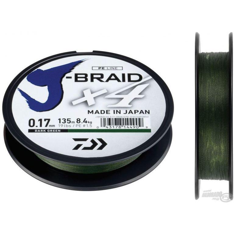 DAIWA J-Braid X4E 0,21 mm 135 m