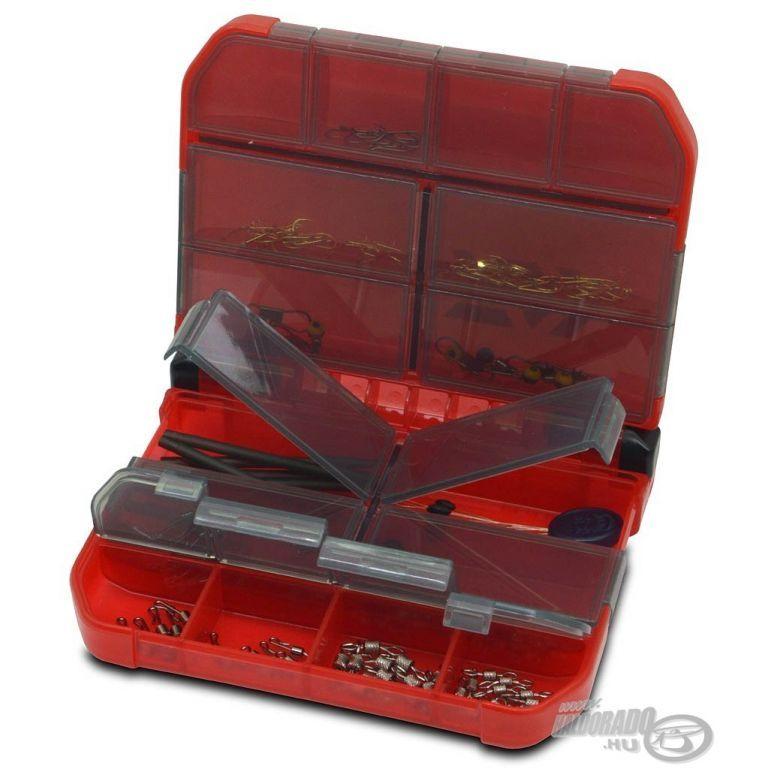 DAIWA Multi Case 122MD piros