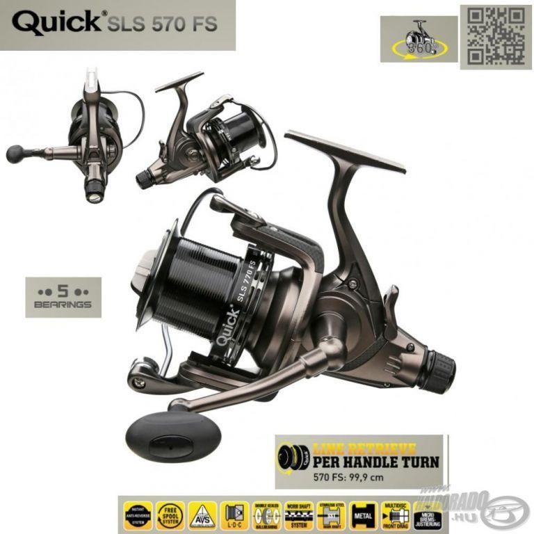 DAM Quick SLS 570FS elsőfék+nyeletőfék