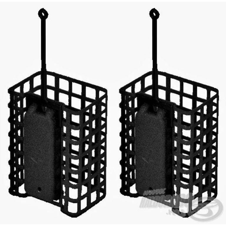 DEÁKY Drótos feederkosár szögletes - 100 g - 2 db