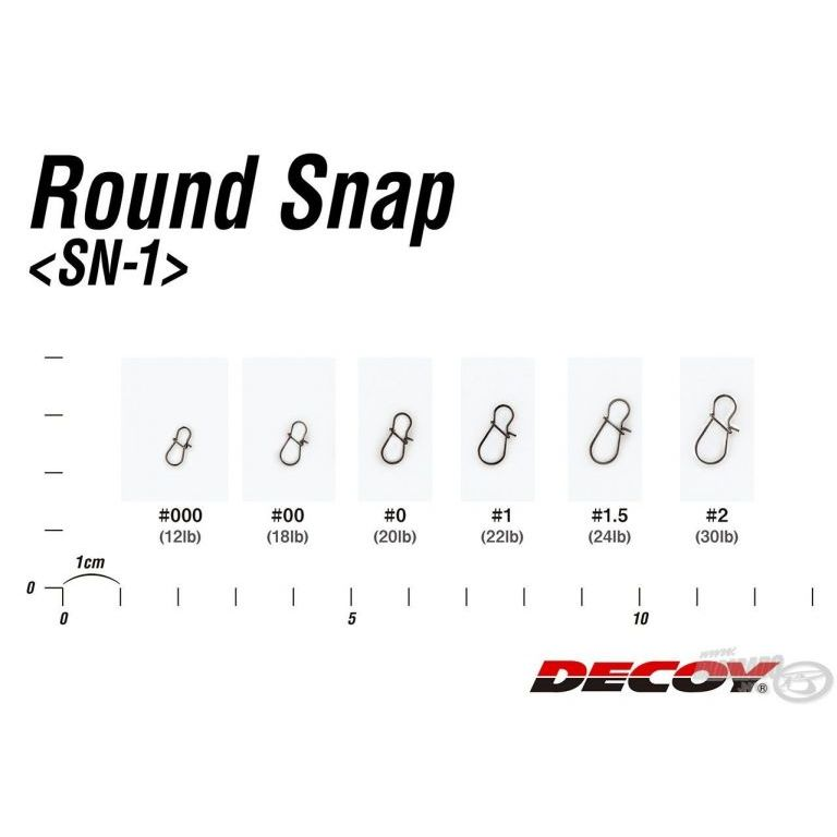 DECOY SN-1 Round Snap 00
