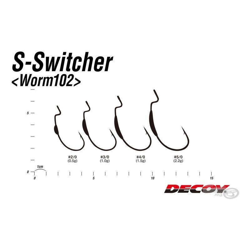 DECOY Worm 102 S-Switcher 2/0 - 0,5 g