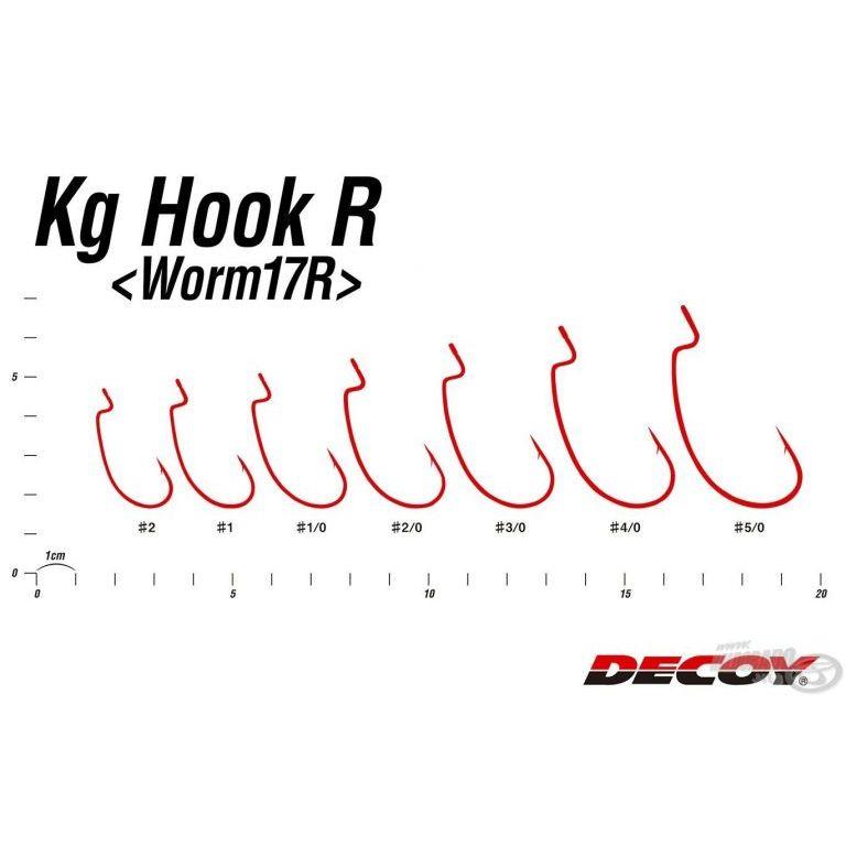 DECOY Worm 17R Kg - 3/0