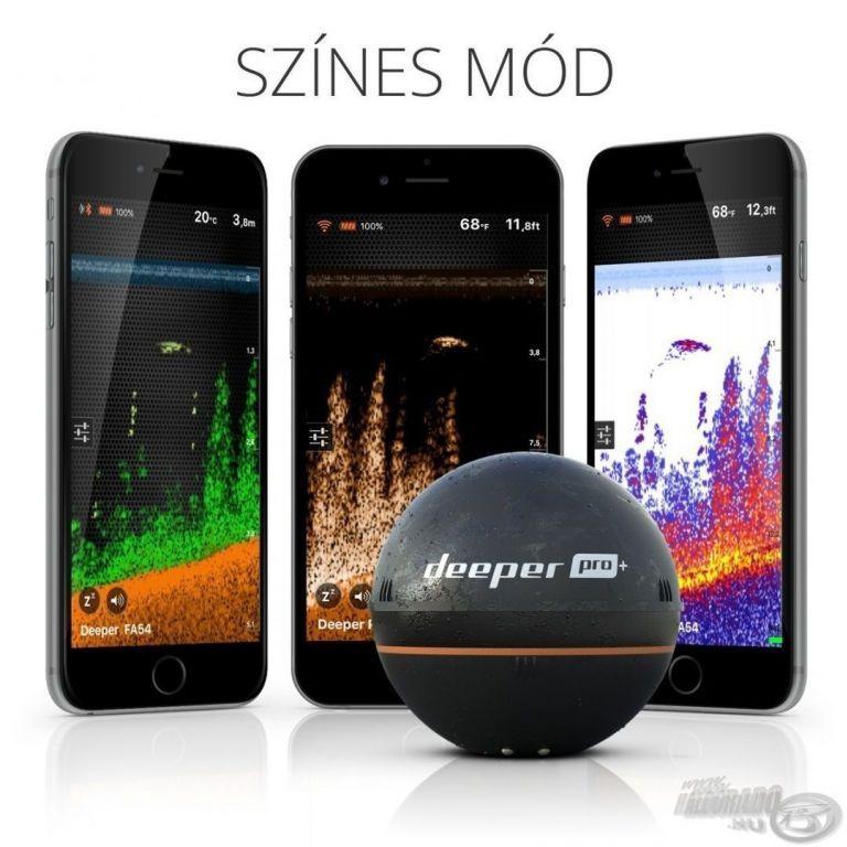 DEEPER Pro+ Wifi+GPS halradar Xmas szett