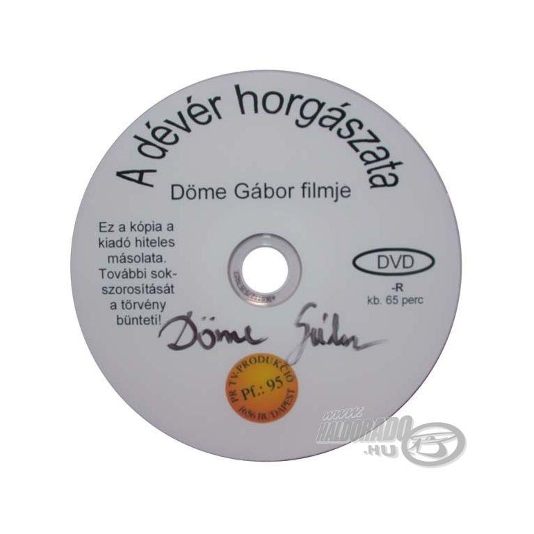 Döme Gábor A dévér horgászata DVD