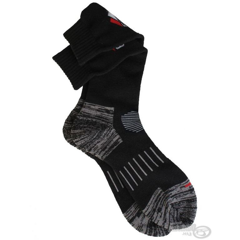 EIGER ProFit Vastag magasszárú zokni fekete 44/47