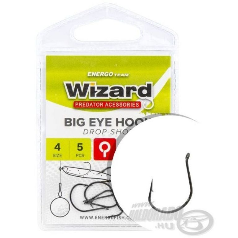 ENERGOTEAM Wizard Big Eye Drop Shot - 1/0