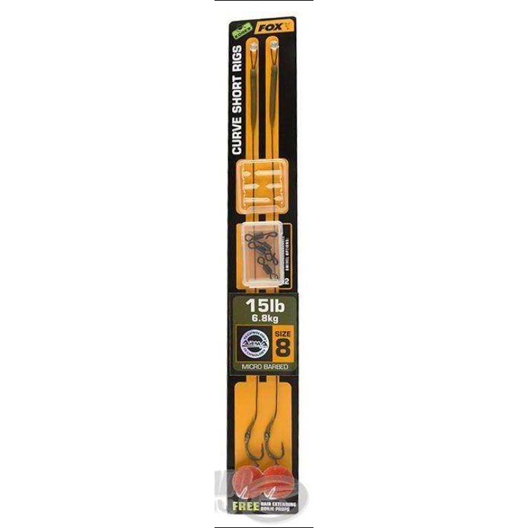 FOX Cruve Short Rig Green 25 Lbs - 4  / 2 db