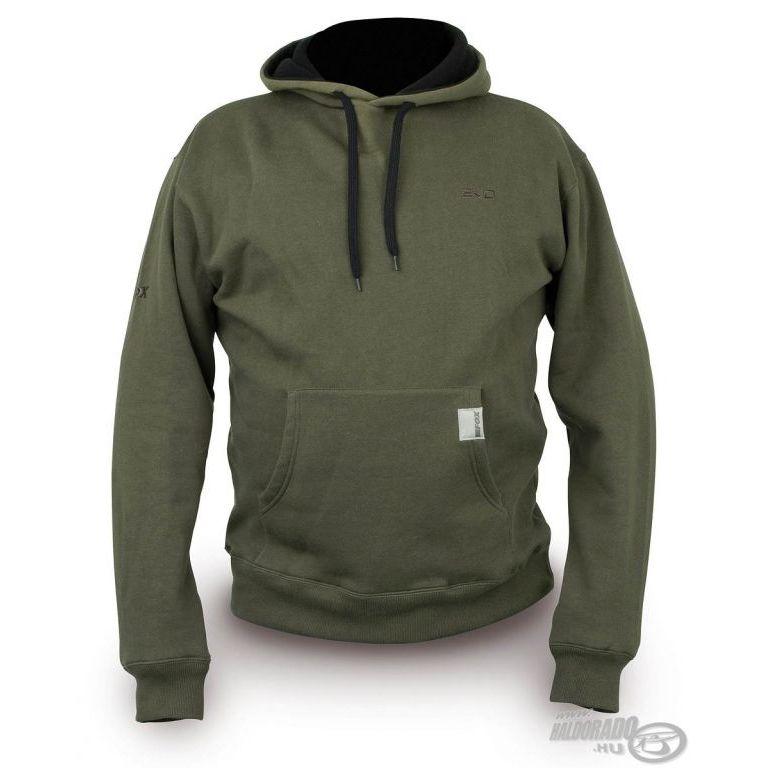 FOX EVO Kapucnis pulóver L - Haldorádó horgász áruház eb53eb5187