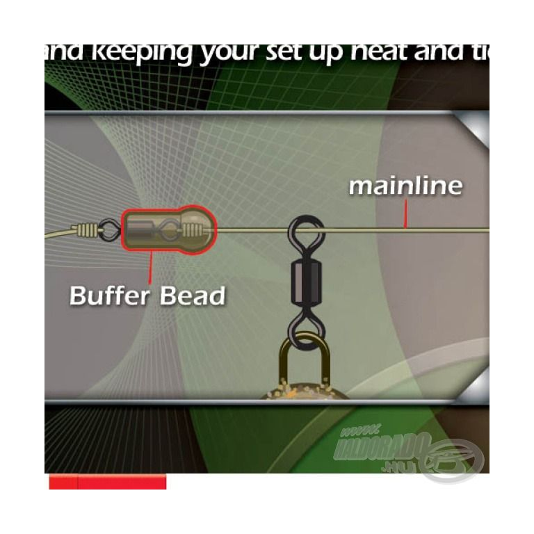 GARDNER Target Mini Buffer Beads Natural Brown