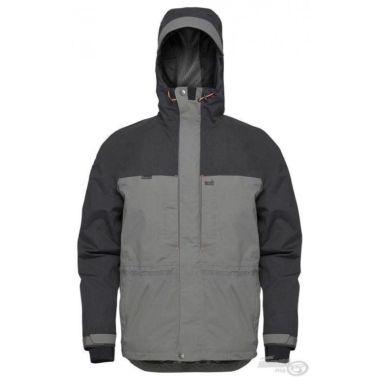 Geoff Anderson Barbarus vízálló dzseki szürke XL