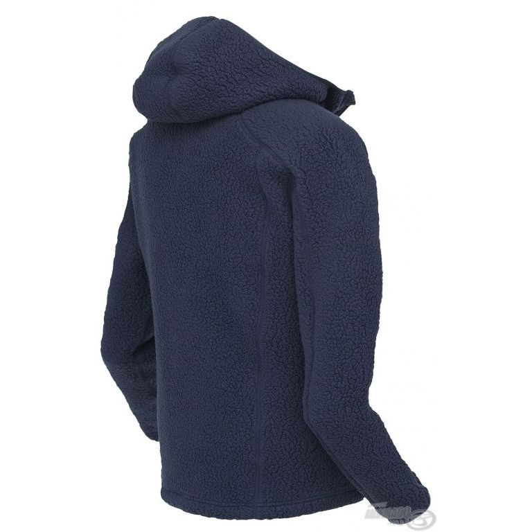 Geoff Anderson Teddy kapucnis kabát kék L