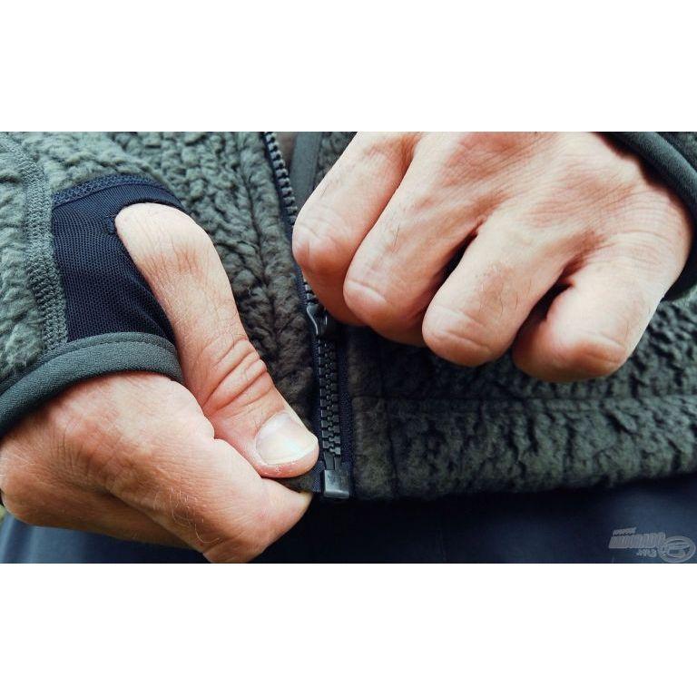 Geoff Anderson Teddy kapucnis kabát zöld XL