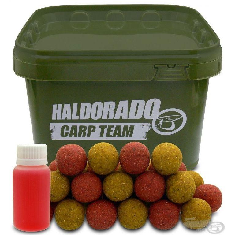 HALDORÁDÓ Big Feed - C21 Boilie - Eper & Ananász vödrös