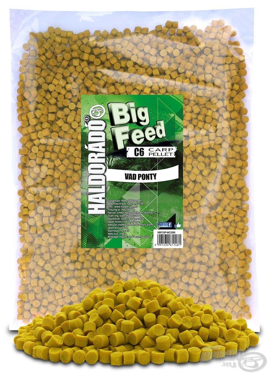 Big Feed - C6 Pellet - Vad Ponty 2,5 kg