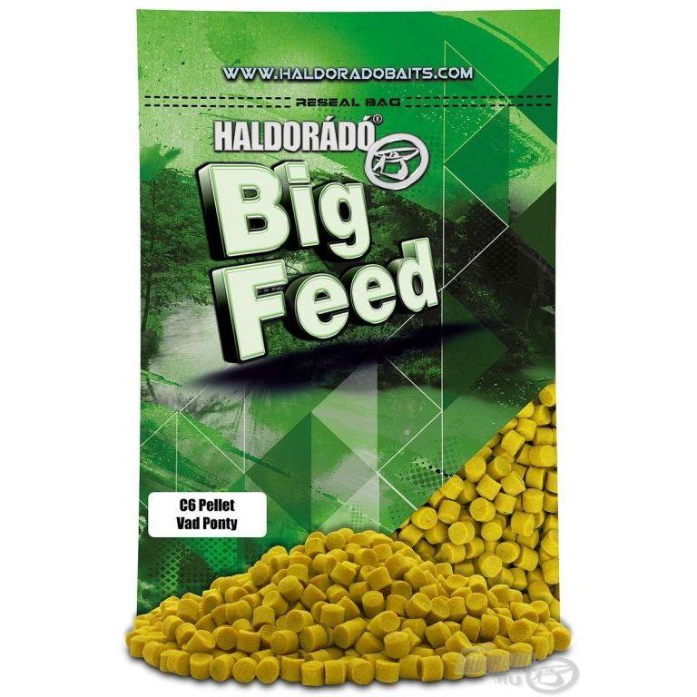 HALDORÁDÓ Big Feed - C6 Pellet - Vad Ponty 800 g