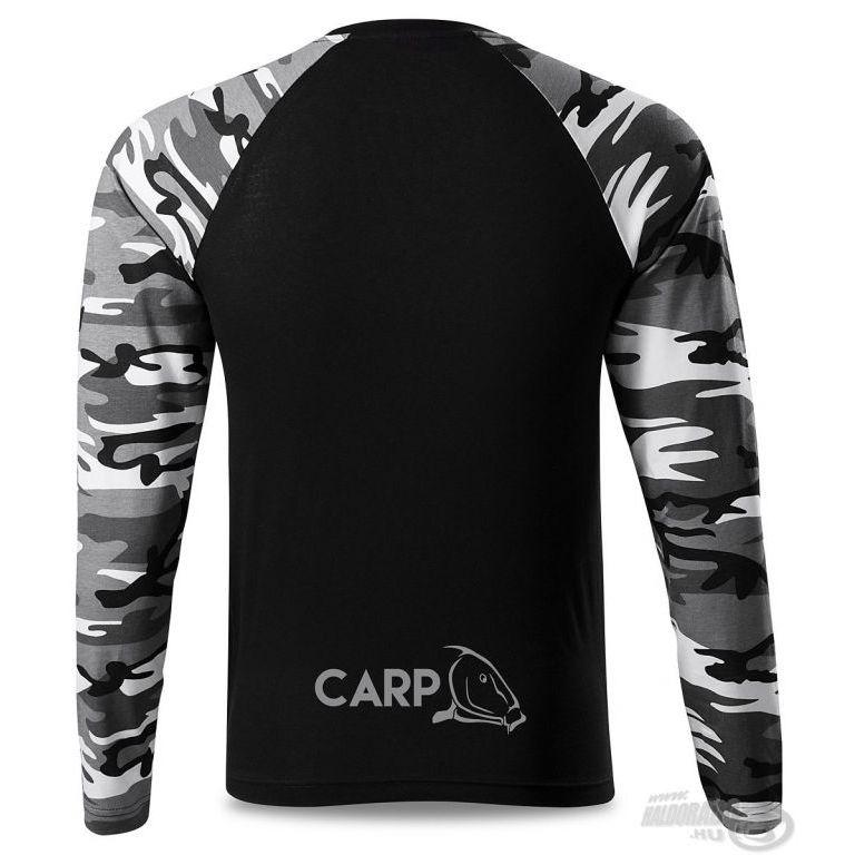 HALDORÁDÓ Carp Team Camouflage hosszú ujjú póló XXXL