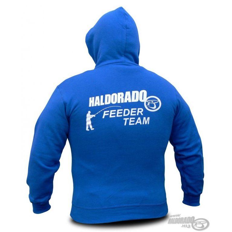 HALDORÁDÓ Feeder Team kapucnis pulcsi XXL