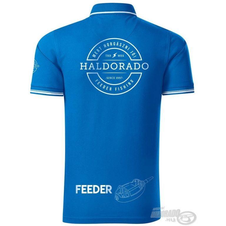 HALDORÁDÓ Feeder Team Perfection galléros póló M