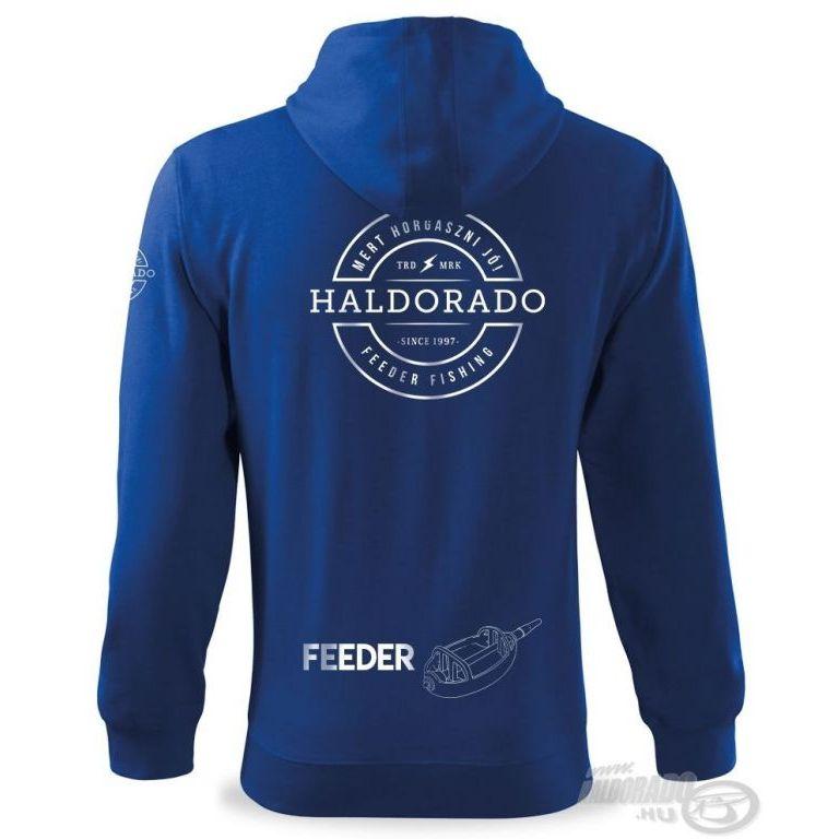 HALDORÁDÓ Feeder Team Trendy cipzáras pulóver S