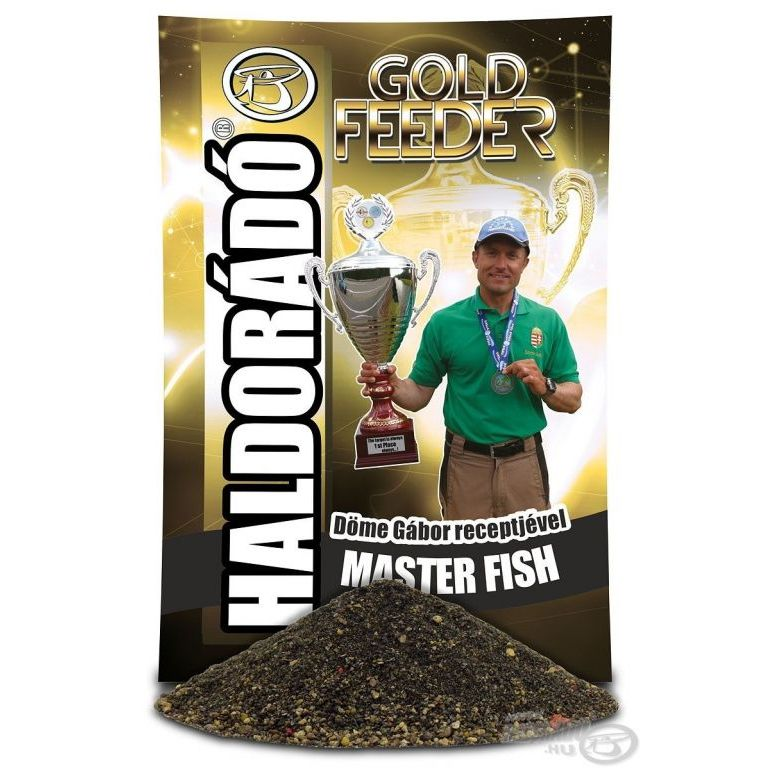 HALDORÁDÓ Gold Feeder - Master Fish