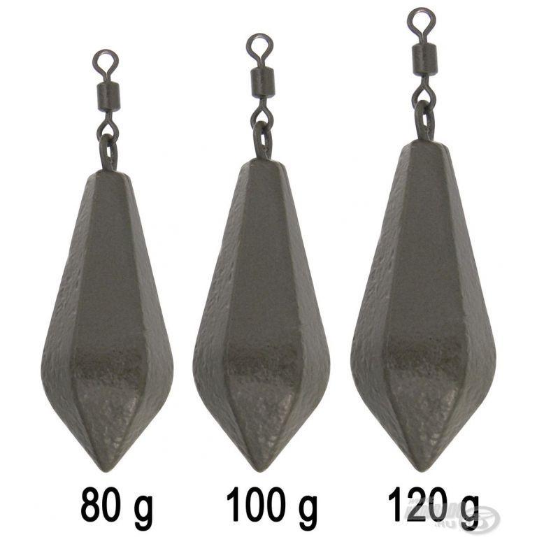 HALDORÁDÓ Hexagonal Lead Swivel 100 g