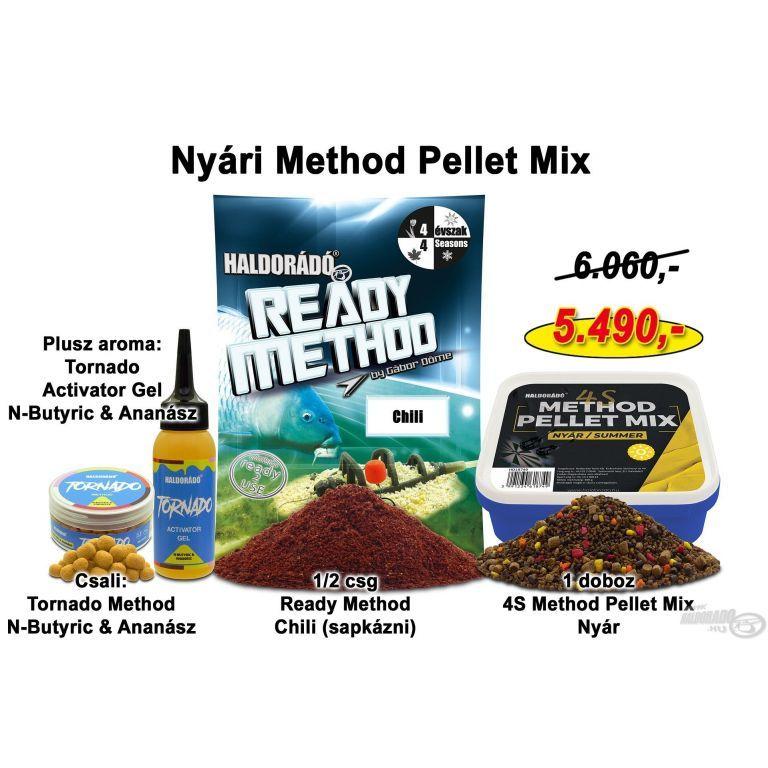 HALDORÁDÓ Nyári recept 1 - Nyári Method Pellet Mix