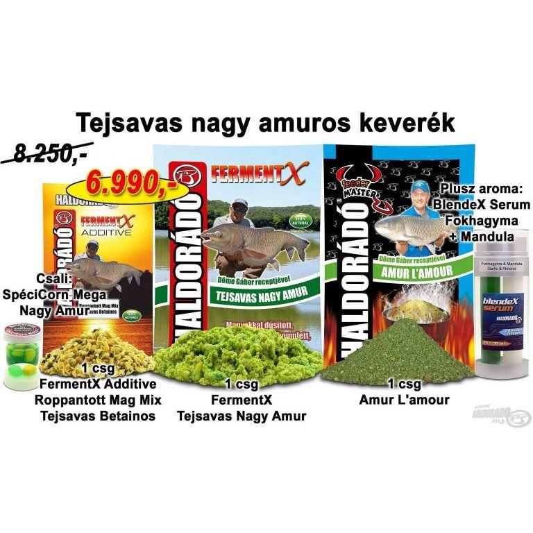 HALDORÁDÓ Nyári recept 4 - Tejsavas nagy amuros keverék