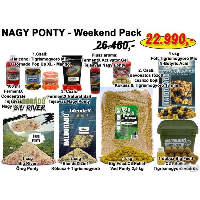 HALDORÁDÓ Nyári recept 9 - NAGY PONTY - Weekend Pack