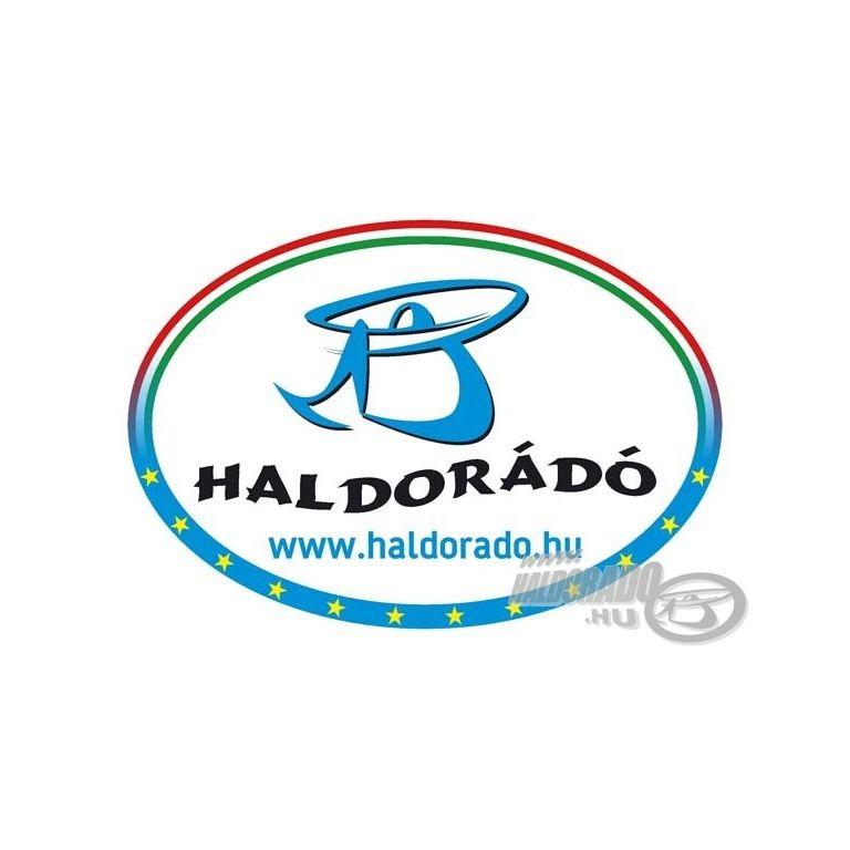 HALDORÁDÓ Ovális Matrica Tricolor