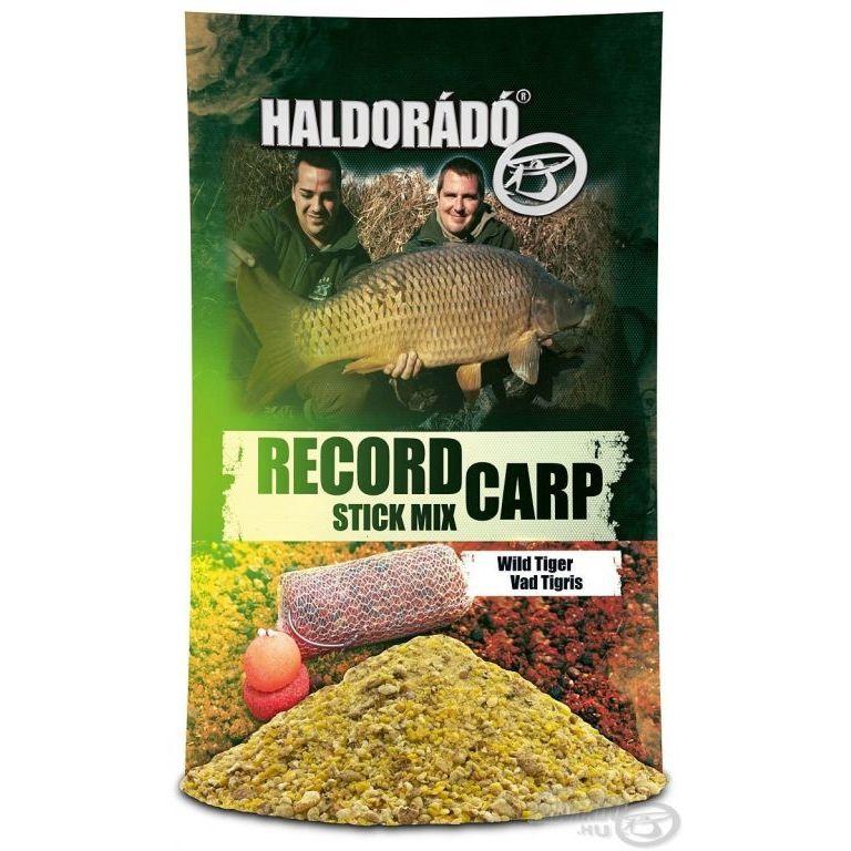 HALDORÁDÓ Record Carp Stick Mix - Vad Tigris + Ajándék Nagyhal csali